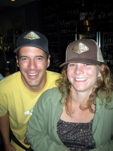 Eric and Rebecca Giddens of Kern River Brewing Company