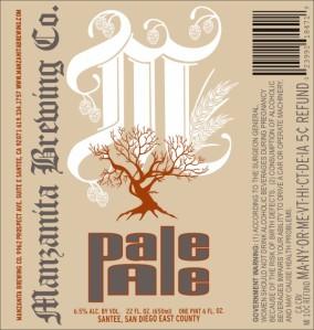 Manzanita Pale Ale