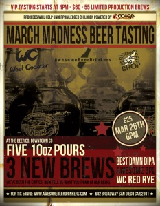 March Madness Beer Tasting
