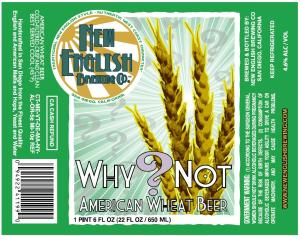 Why?Not American Wheat
