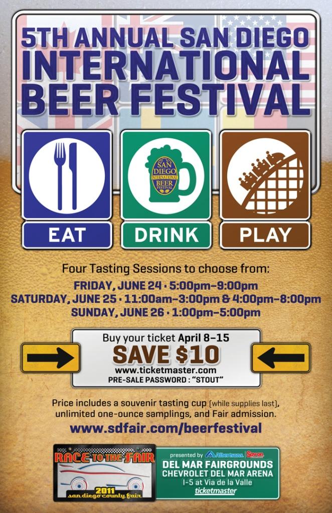 Beer Fest Pre-Sale Flyer