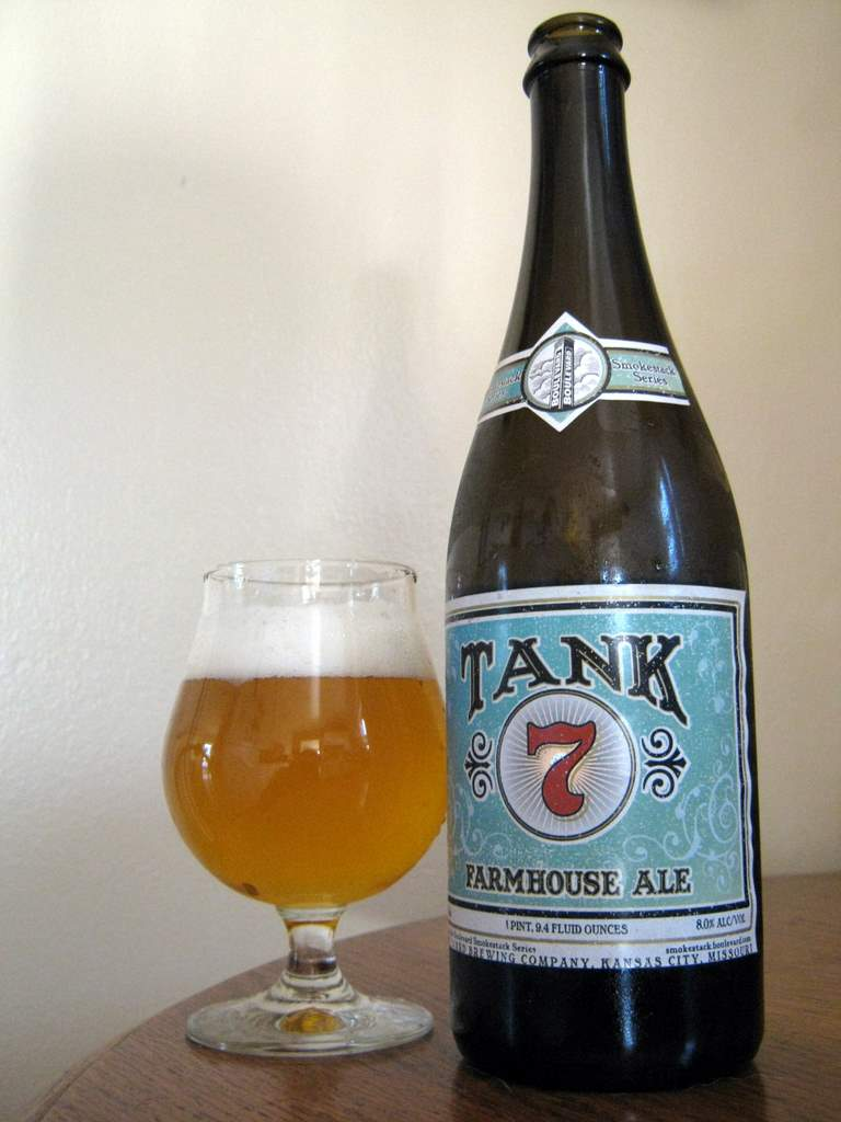 Farmhouse Friday Boulevard Tank 7 Farmhouse Ale