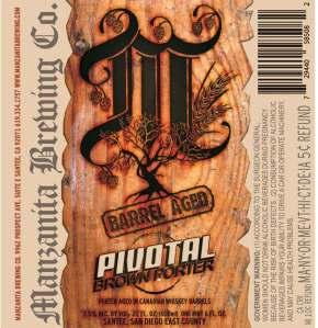 Barrel Aged Pivotal Brown Porter