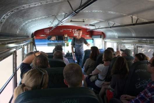 Derrik Chinn and a Full Bus