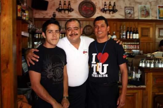 Staff at Cerveceria Tijuana