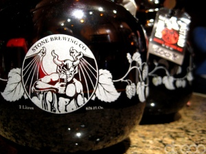 Stone Brewing Co. Growlers