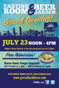 Green Flash Grand Opening